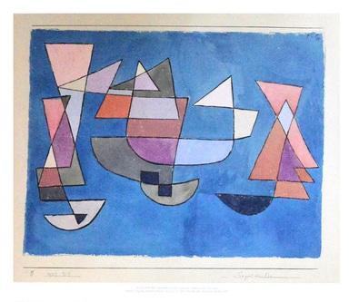Paul Klee Segelschiffe, 1927
