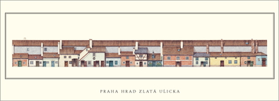 unbekannter Kuenstler Prag, Hrad Zlata Ulicka