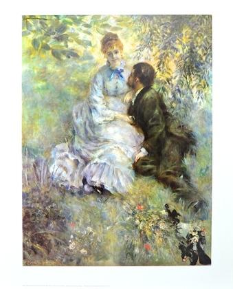 Pierre Auguste Renoir Idyll (Liebende 1875)