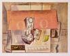 Picasso pablo stilleben mit roter tapete medium