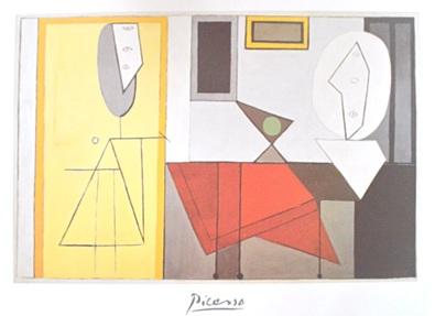 Pablo Picasso Das Atelier 1928