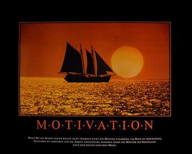 motivation motivation poster kunstdruck bei. Black Bedroom Furniture Sets. Home Design Ideas