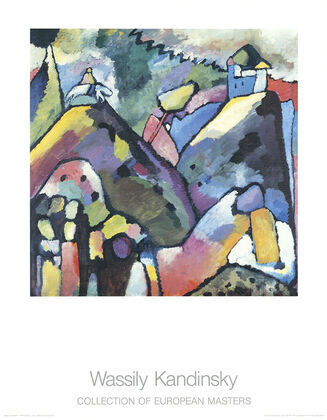 Wassily Kandinsky Improvisation 9