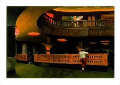 Edward Hopper The Sheridan Theatre. 1928