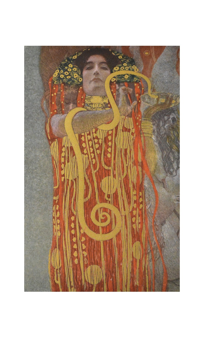 gustav klimt hygieia k 15 poster kunstdruck bei. Black Bedroom Furniture Sets. Home Design Ideas