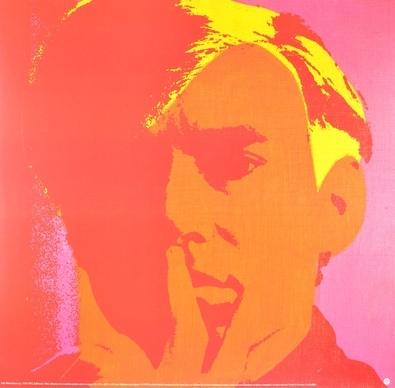 Andy Warhol Selbstbildnis rot