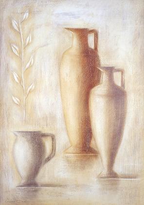 Lewman Zaid 2er Set 'Amphoras I + II'