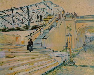 Vincent van Gogh Eisenbahnbruecke (Le Pont de Trinquetaille)