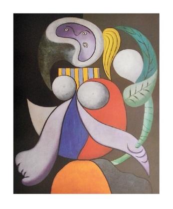 Pablo Picasso Femme a la fleur