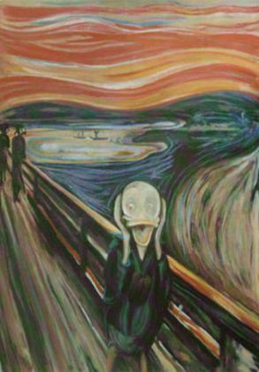 Edvard Munch Der Schrei Kunstkarte