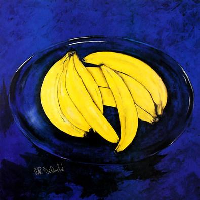 Erik de Andre Banana in Blue (handsigniert)