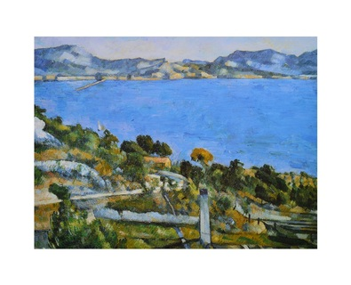 Paul Cezanne Das Meer bei Estaque