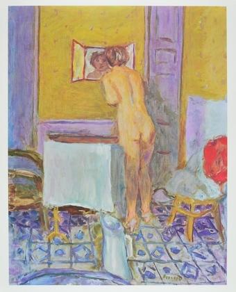 Pierre Bonnard Akt vor einem Spiegel