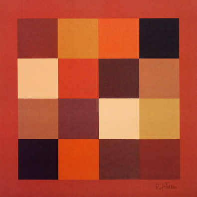 Robert Eikam 2er Set 'Squares I + II'
