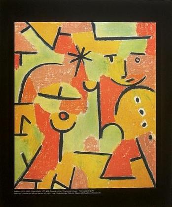 Paul Klee Figur in Gelb
