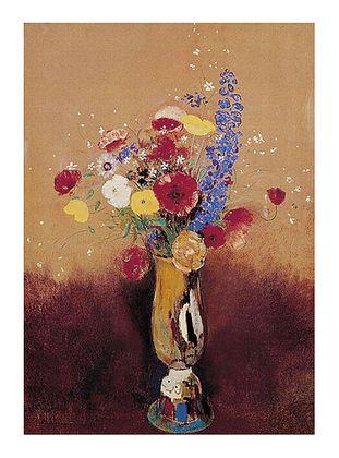 Odilon Redon Bouquet of Flowers