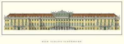 Architektur Wien Schloss Schoenbrunn