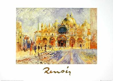 Pierre Auguste Renoir Piazza San Marco Venezia