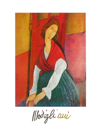 Amedeo Modigliani Portrait Jeanne Heburterne