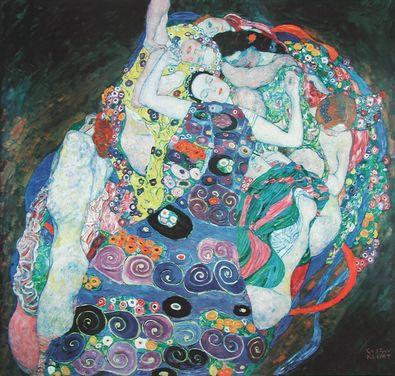 Gustav Klimt Die Jungfrau (Buetten)
