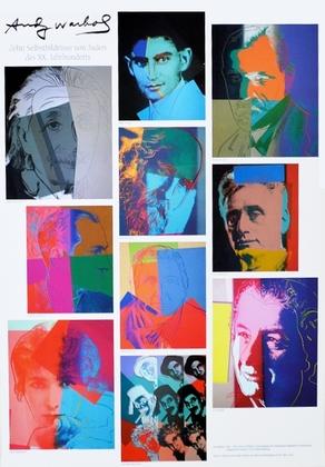 Andy Warhol Zehn Selbstbildnisse von Juden des XX. Jahrhunderts
