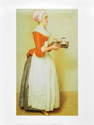 Jean Etienne Liotard Schokoladenmaedchen