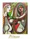 Picasso pablo maedchen vor spiegel medium
