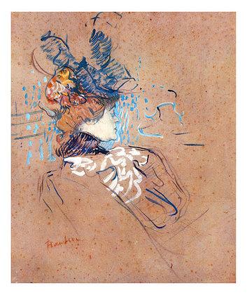 Henri Toulouse-Lautrec Profile of a Woman