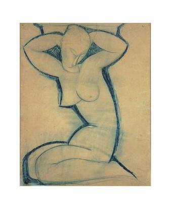 Amedeo Modigliani Cariatide