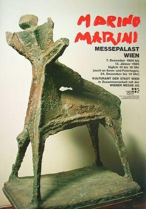 Marino Marini Reiter Skulptur
