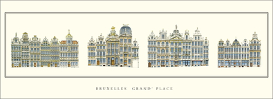 unbekannter Kuenstler Bruessel, Grand Place
