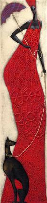 Ira Tsantekidou Lady in Red