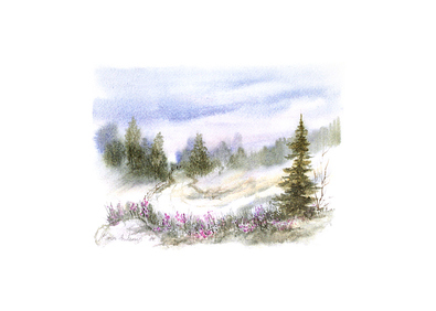 Karin Andersen Landschaft Nr. 9