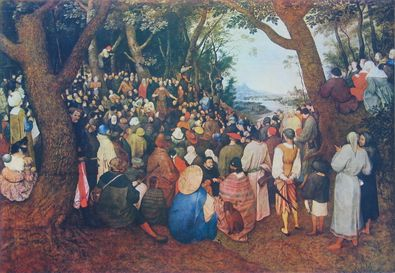 Pieter Brueghel Die Predigt Johannes des Taeufers