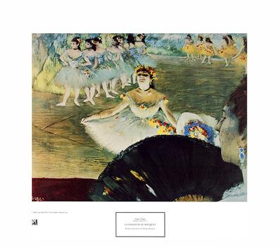 Edgar Degas La Danseuse au Bouquet