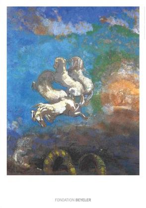 Odilon Redon Le Char d' Apollon