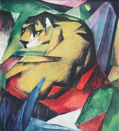 Franz Marc Der Tiger (Buetten)