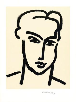 Henri Matisse Femme IV (Grande tete d.Katia)