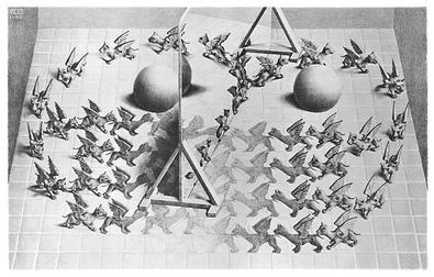 MC Escher Zauberspiegel (klein)