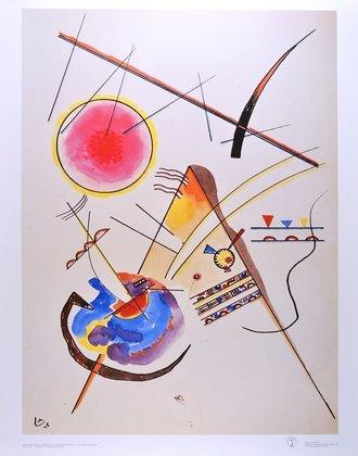 Wassily Kandinsky Aquarell aus dem Gaestebuch Hess