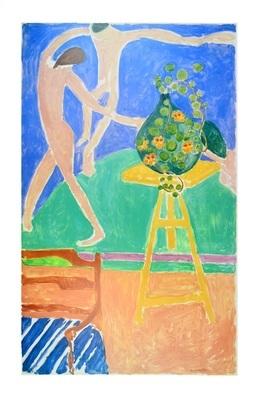 Henri Matisse Capucines a La Danse I 1912