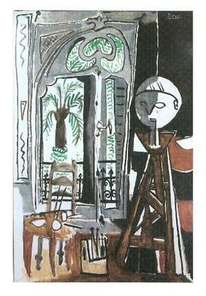 Pablo Picasso Das Atelier 1955