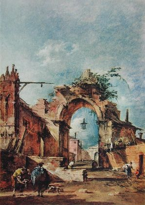 Francesco Guardi Capriccio