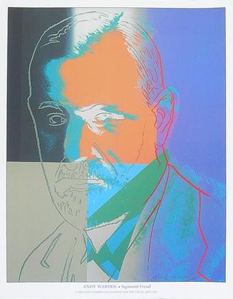Andy Warhol Sigmund Freud