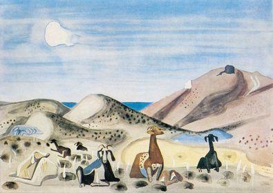 Richard Seewald Ziegenherde auf Naxos