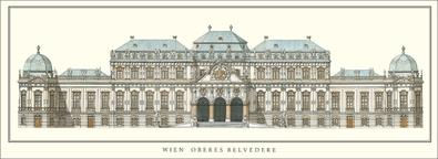 Johann Lukas  von Hildebrandt Wien, Oberes Belvedere