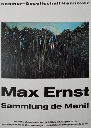 Max Ernst Sammlung de Menil