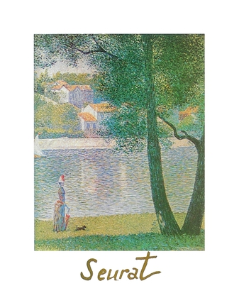Georges Seurat Die Seine in Courbevoie