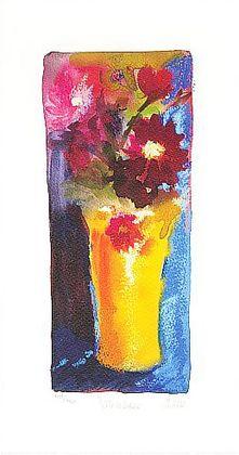 Nel Whatmore Yellow Vase