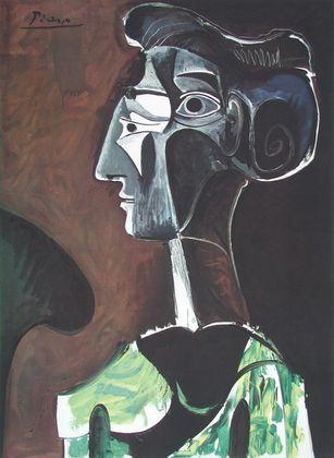 Pablo Picasso Grand Profil  1963